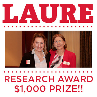 LAURE research award $1,000 prize