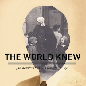 Exhibit on Karski's mission to alert world about Holocaust opens in King Library